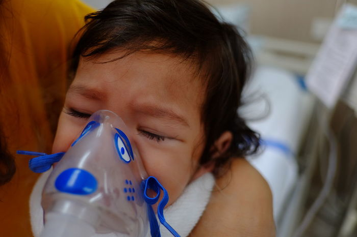 Healthcare Hospital Medicine Child Health Ill Illness Infection Innocence Medical Oxygen Oxygen Mask Respiratory Respiratory Mask Rsv Sick Viral Virus