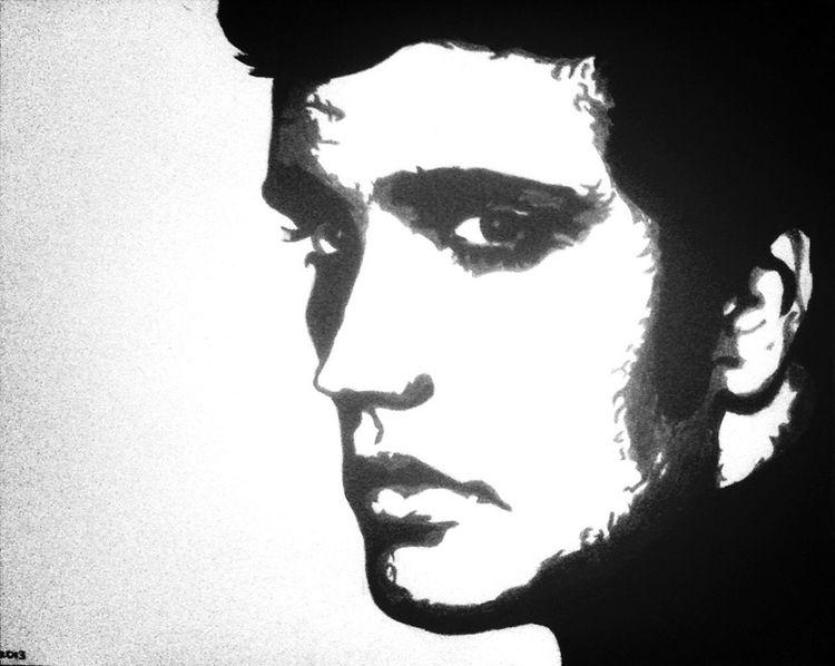 Drawing Elvis Presley