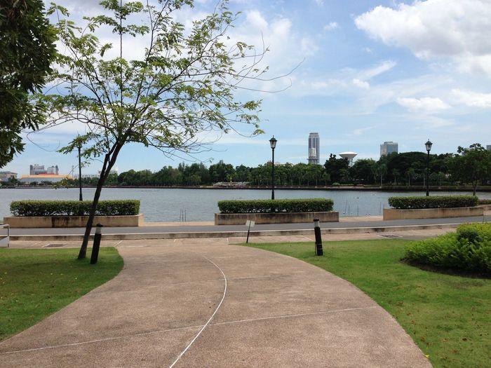 Asiatique Bangkok Benjakiti Park Thailand