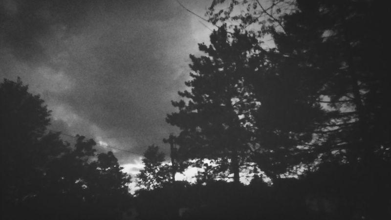 Stormy night in Kane Rain Storm Clouds Greyskies
