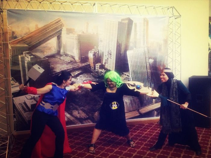 once upon a time in asgard. thor, hulk & loki