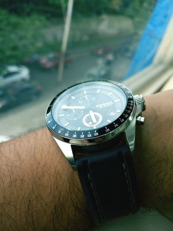 Time Wristwatch High Angle View No People Day Close-up Clock Face Indoors  Clock Fossilwatch Love Randomshot