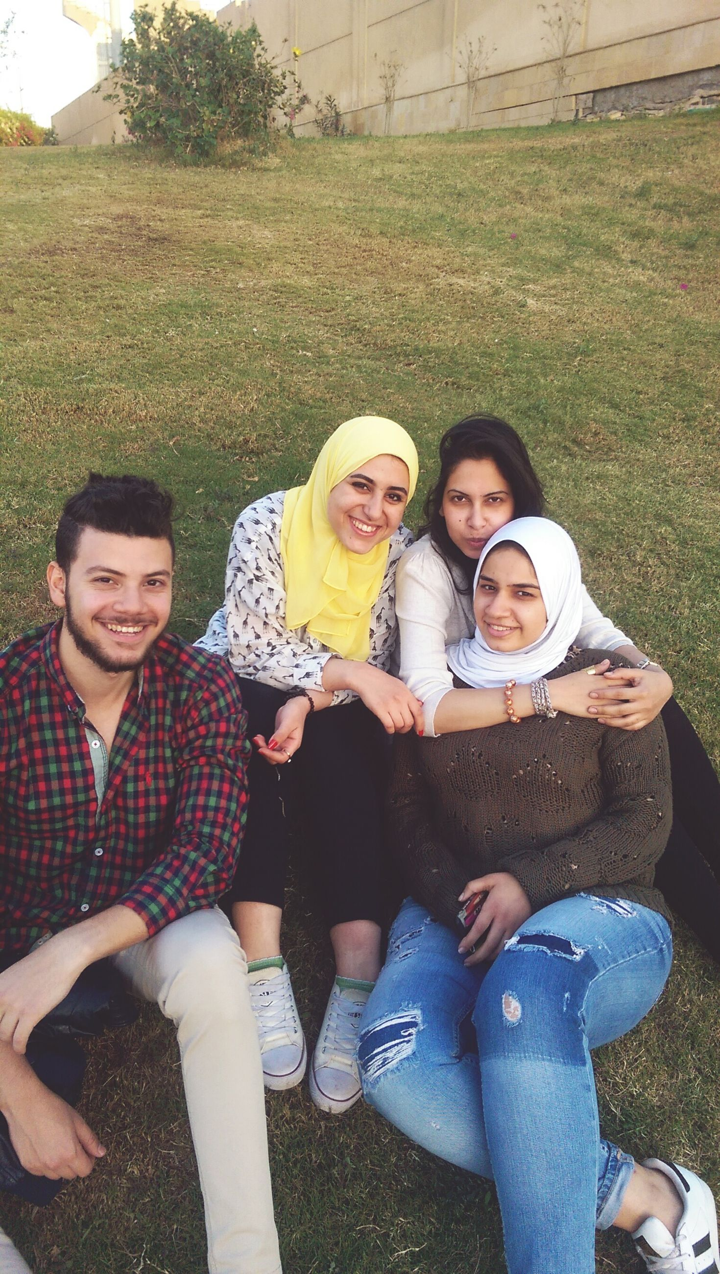 togetherness, bonding, person, lifestyles, smiling, portrait, leisure activity, love, happiness, looking at camera, casual clothing, childhood, friendship, front view, elementary age, family, people