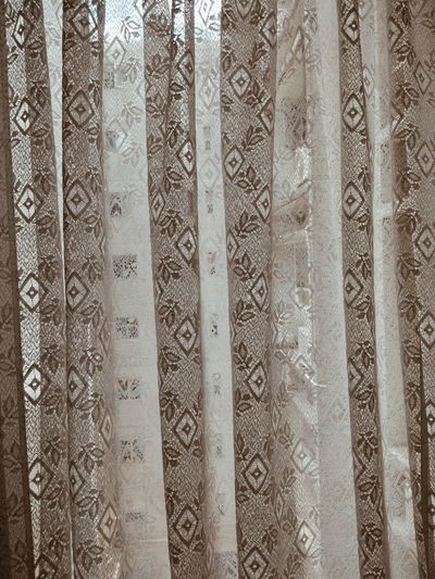 Pattern Backgrounds Textured  Close-up Indoors  Architecture Exceptional Photographs EyeEm Gallery Pastel Colored Mood Captures Master Class Shape And Pattern Curtain Lace Curtain