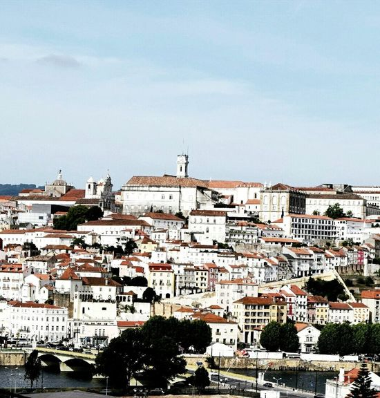 Outdoors Building Exterior Built Structure Sky Day Architecture City No People Architecture Photo Tranquility History Travel Amazing_captures Amazing Photo Perspective Photography Tourism The Street Photographer - 2017 EyeEm Awards Low Angle View Photoday Coimbra Coimbra, Portugal