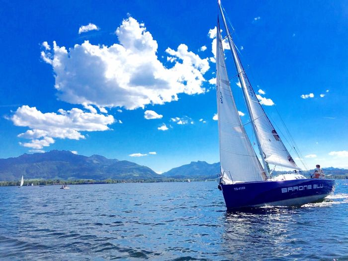 The Great Outdoors - 2016 EyeEm Awards Sailing Boat Sailing Sailing Chiemsee Chiemsee Summer Sailing Boats Chiemsee