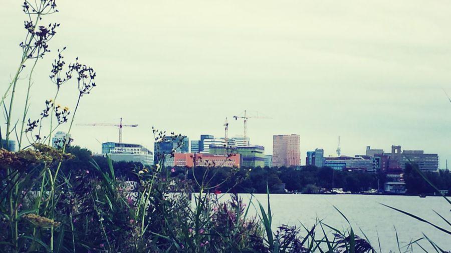 Skyline Zuidas Nieuwe Meer, Amsterdam