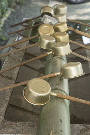 Cleaning Pure Bamboo - Material Clean Close-up Day High Angle View Indoors  No People Praying Puring Refelction  Refelctions Sacred Wash Water