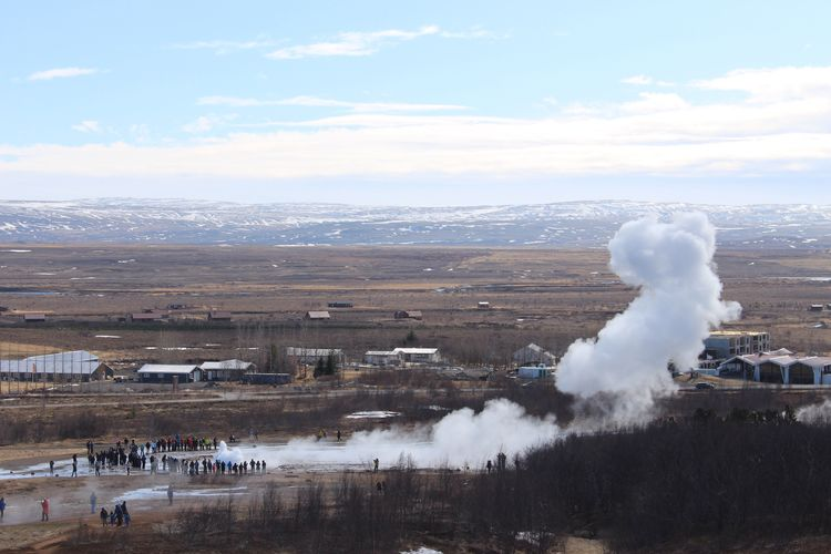 Geysir, Iceland Volcanic  Geysir Nature Tourist Iceland_collection Geography Hiking Iceland Memories Iceland Geology Winter Fieldtrip Countryside Geyser Volcaniclandscape Wilderness