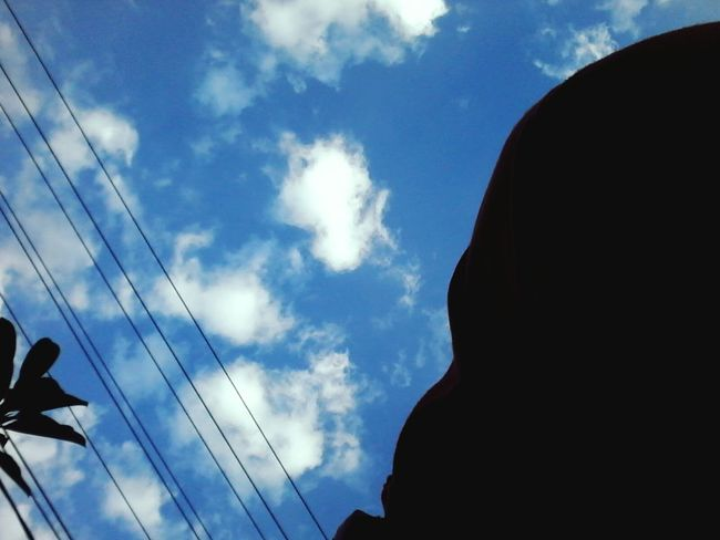 Telephone Line Technology Cable Silhouette Electricity  Power Supply Power Line  Communication Sky Cloud - Sky First Eyeem Photo
