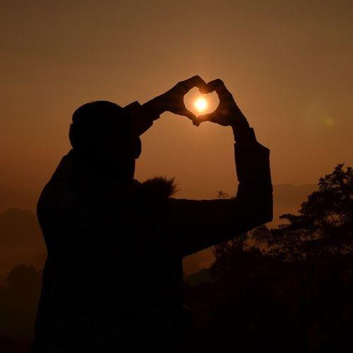 Love Morning Silhoulette Sungeipalas sunriseporn boring candid canon nikon