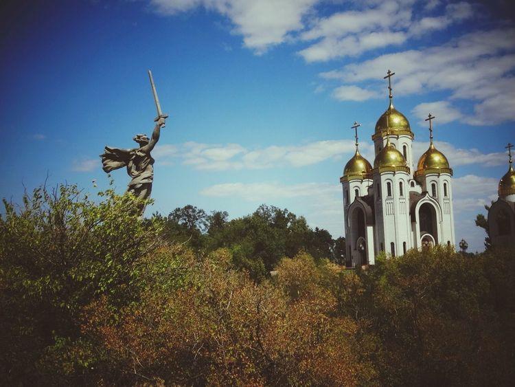 Volgograd Good Day красота♥ Russia родина_мать храм Волгоград