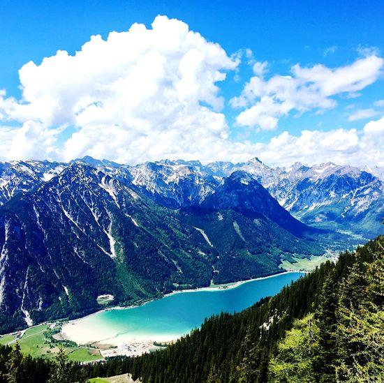 Montain View View Rofan-Alm Rofangebirge Achensee Austria Mountain Cloud - Sky Mountain Sky Scenics - Nature Beauty In Nature Plant Tree Mountain Range Nature Day Outdoors Idyllic My Best Travel Photo