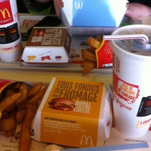 Une Petite Faim?! McDonald's