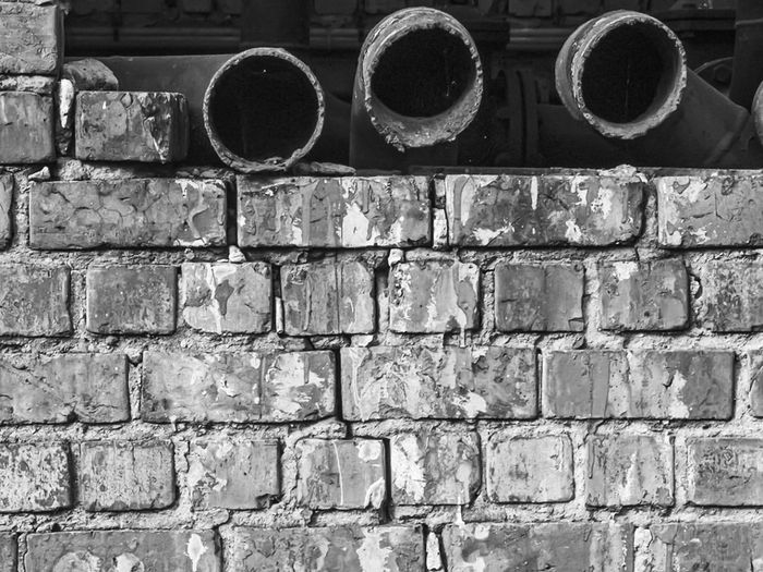 Full frame shot of old wall
