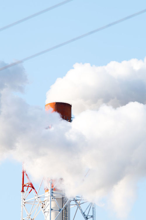 Cloud - Sky Sky Low Angle View Mid-air Day Outdoors No People Hot Air Balloon Adventure Extreme Sports Parachute Chimney Japan Kumamoto The City Light EyeEmNewHere