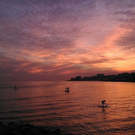 HTC on manual mode rules! Nofilters needed Sunset CostadelSol Travel Benalmádena Sup Clublaplaya