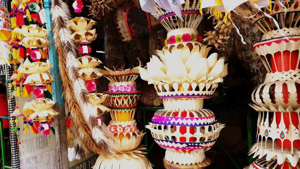 Multi Colored Rituals & Cultural Spiritual Spirituality Religious Art Hindubali nature Denpasar-bali Balinese Ceremony Natural