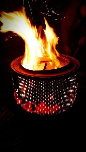 Fire,outdoor activities, bonfire,fall time Flame Burning Fire - Natural Phenomenon Night Close-up Dark Bonfire Outdoors Firewood Glowing Luminosity