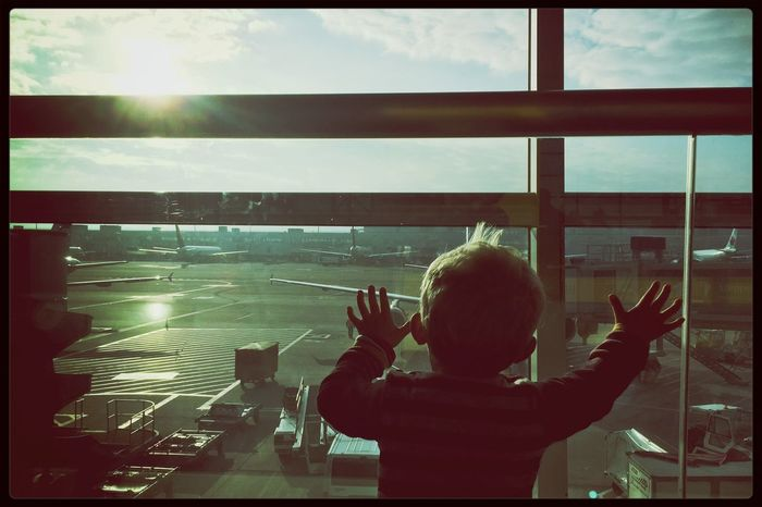EyeEm Best Shots EyeEm Best Edits EyeEmBestPics Beautiful Sunlight Rule Of Thirds Kris Demey Photography Airport At The Airport Live For The Story