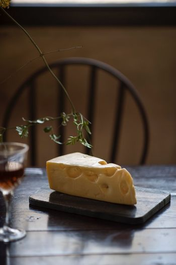 Food And Drink Food Freshness Indoors  Table No People Cheese Dairy Product Still Life Wood - Material Household Equipment Sweet Food Wellbeing Selective Focus Close-up Healthy Eating Dessert Sweet Focus On Foreground Ready-to-eat