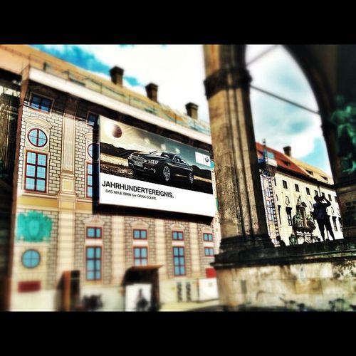 Jahrhundertereignis in München Freudeamfahren Bmw