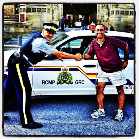 My New Canadian Buddy! #Ottawa #Canada Government Ontario Security Trooper Tourist Instagood Awesome Webstagram Police Gmy Canada Parliament Ottawa Igcanada Iphoneonly Cop Photooftheday Harjit Iphonesia Canadian_landmark Picoftheday Canadian_icon JustMe Rcmp Canadian Squadcar Friendly Iphoenography Instamood