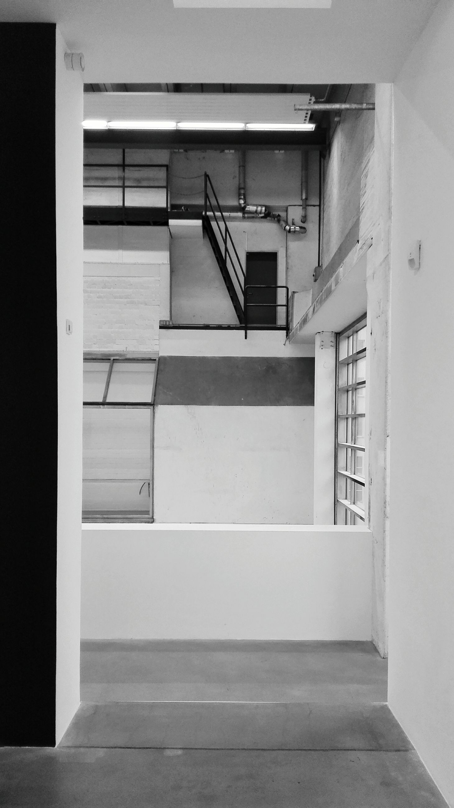 architecture, built structure, door, building exterior, window, indoors, house, building, entrance, closed, sunlight, no people, steps, day, wall, railing, wall - building feature, residential structure, doorway, open