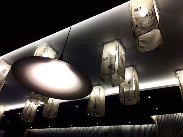 Light of life Resteraunt Janpanesefood Lighting Equipment Illuminated Electric Lamp Low Angle View Ceiling Electric Light Electricity  Hanging Light Bulb Indoors  No People Pendant Light Night