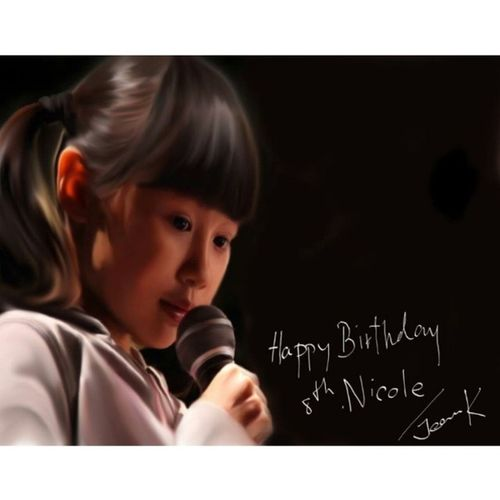 | This seems to take me the longest to make it >>>>Nicole Chien C-Sketch | Happy 8th Birthday Lil Girl!!! ☀♥♡♥††∞∞∞∞¤¤¤•º°˚°º•»» Nicole Baverly ««•º°˚°º¤¤¤∞∞∞∞††♥♡♥☀ May your birthday be filled with many happy hours and your life with many happy birthdays. On this special day, i wish you all the very best, all the joy you can ever have and may you be blessed abundantly today, tomorrow and the days to come! May you have a fantastic lifetime and many happiness is more to come... Life should be lived with a smile on your face and no one does a better job of putting one on your face than you. HAPPY BIRTHDAY!!!! สุขสันต์วันเกิดนะ นิโคลน้อย!! มีความสุขมากๆมายๆ....ระวังลูมเบรสเล็ทกองทับตายนะลูก ขอให้หนูโตขึ้นสวยๆเก่งๆนะ ร้องเพลงเพราะๆหวานๆเหมือนแม่หนูนะ โชคดีนะเด็กน้อย Nicolechien