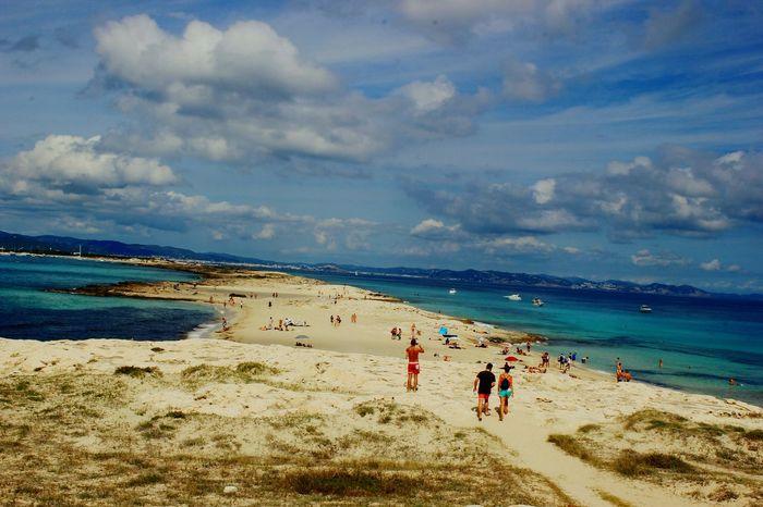 Ibiza Sea Sea And Sky Sea And Beach Water Sky Beach Vacations Tourism Tourist Beauty In Nature Summer Nature EyeEm Best Shots EyeEm