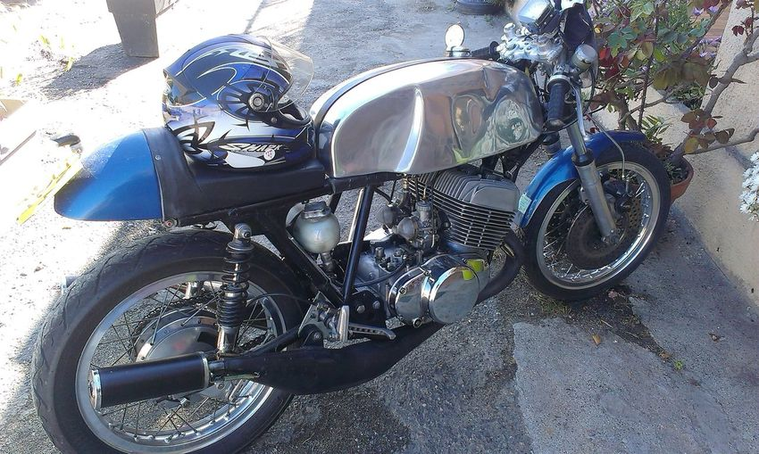 Bmw Motorcycle Vintage Old Corsica RePicture Travel