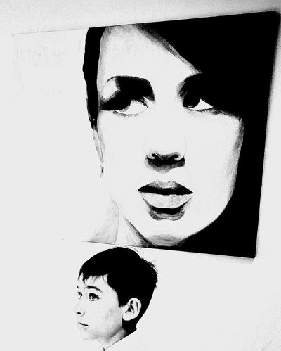 Artworks Owens Doubletrouble Fine Art Schwarzweiß Fine Art Photography ArtWork Art Boy London Monochrome Portrait