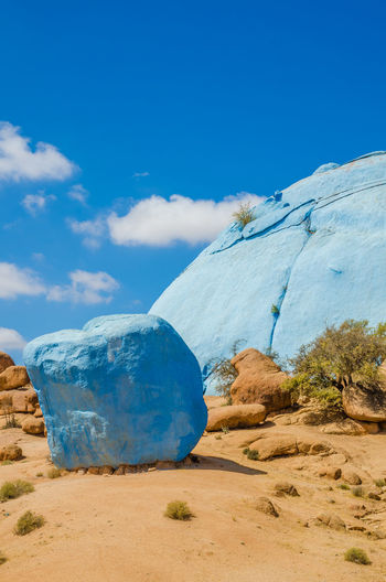 Morocco Landscape Nature Rock Rock - Object Rock Formation Painted Painted Rocks