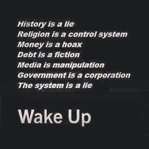Wakeuppeople Itsnotallitscrackeduptobe Masshallucination Theressomethinginthewater youonlyseewhatyoureyeswanttosee