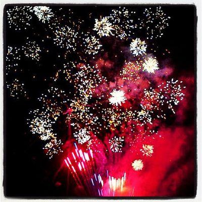 Happy President's Day! #btv #vt #miltonvt Party Night Sky Holiday Fireworks Celebration Pretty Vermont Milton Vt Btv Milton_vt Miltonvt Presidents