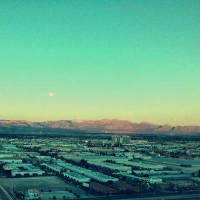 Morning Views Las Vegas Motivation Success Focus Determination BossUp Horizon Sunrise Perspective Early