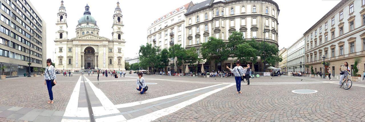Panorama Panorama Shot. Panoramas Taken By Iphone 6 Plus Budapest