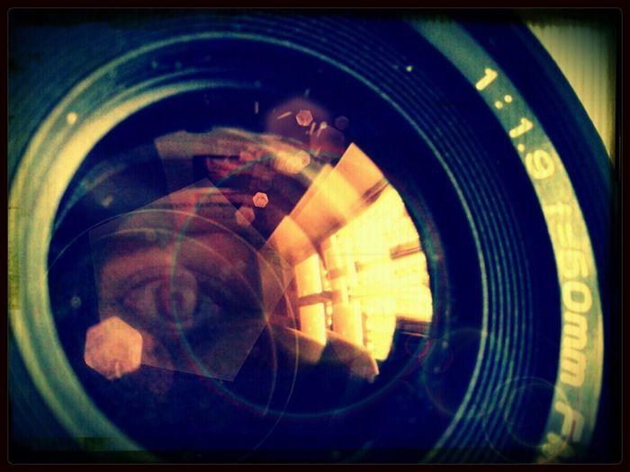 Riflessi Obiettivo Lens Flare Kino fujica