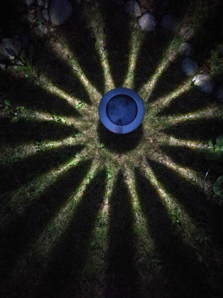 Night Close-up UFO Gardenlight