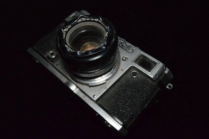 Lieblingsteil Black And White Old Camera Photo Camera Kiev Retro