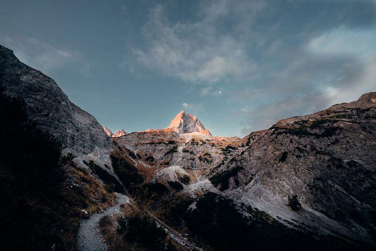 Mountain moonlight