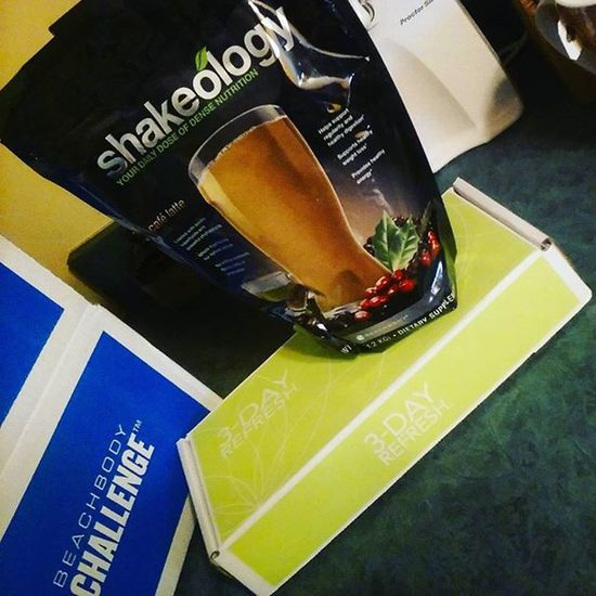 FINALLY GOT MY CHALLENGE PACK: a month's supply of Shakeology and the 3 Day Refresh detox. Fitness Motivation Eatclean EatHealthy Protein Gym LoveYourself GymLife Shakeology Beachbodycoach Beactive Coachfitness Beach Challenge Challengeyourself