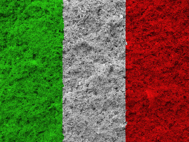 Italian flag Close-up Day Grass Green Color Italy Italy Flag Nation Nature No People Outdoors Red Rome Rome Italy Sport State