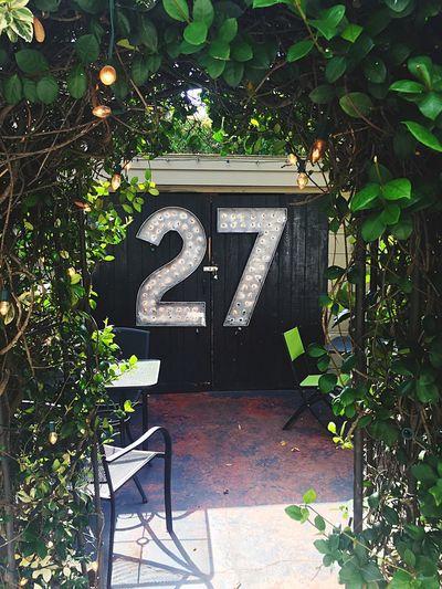 27 Arbor entrance