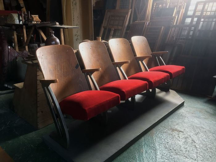 Chair In A Row