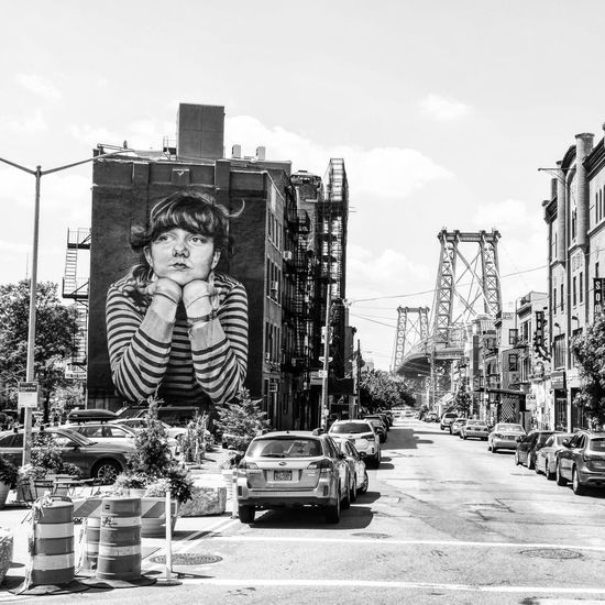 Street art Brooklyn, New York. Brooklyn NYC Street Art Streetphoto_bw Streetphotography Blackandwhite Black & White Earth Trek Fine Art Photography Battle Of The Cities
