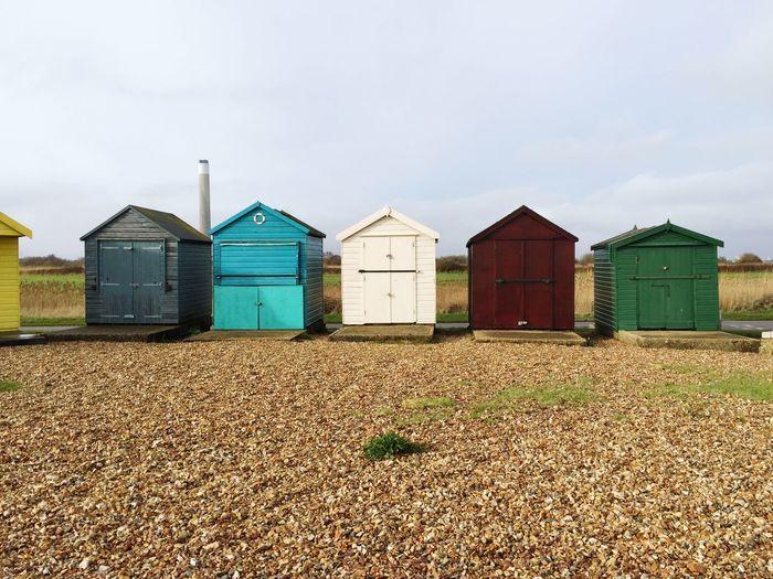 Beach Huts Pop