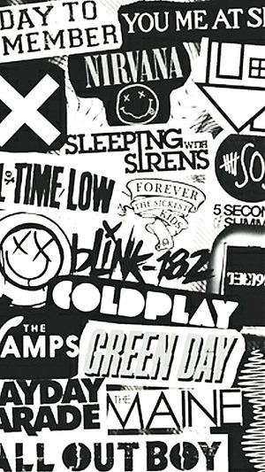 Music is life ADayToRemember Alltimelow Sleepingwithsirens 5SOS 5sosfam Nirvana Greenday Mayday Parade  Blink182 Music