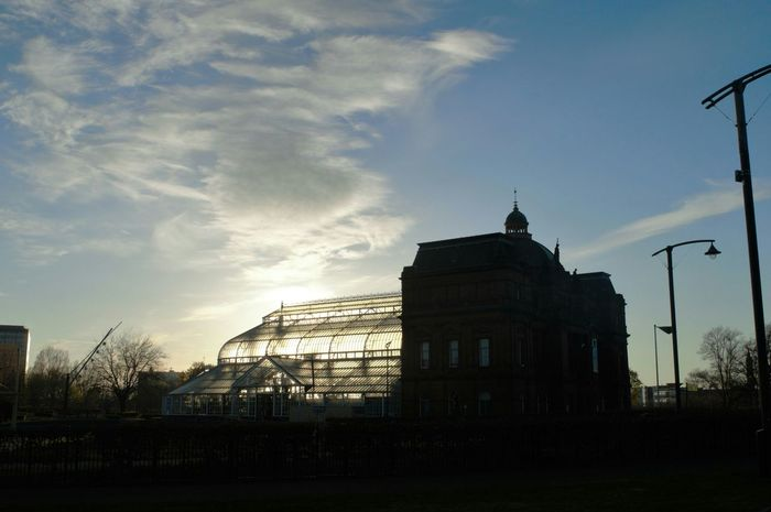 Peoples palace at sunset Taking Photos Walking Around Clouds And Sky